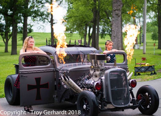 5th Annual Classic Car/Rat rod & Pinup Shoot